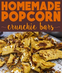 homemade honeycomb crunchie
