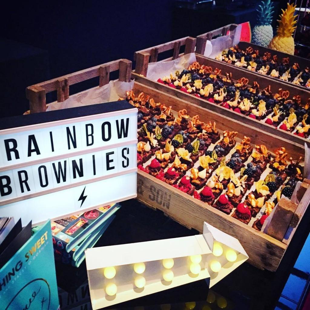 Rainbow Brownie Bar